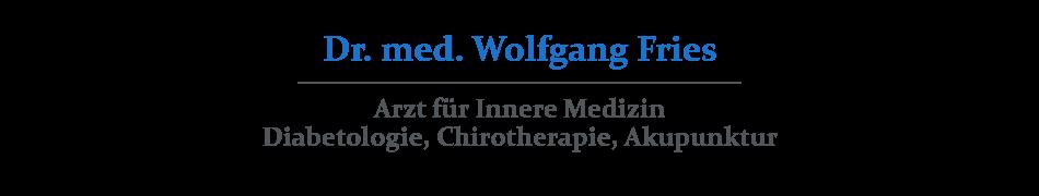 Praxis Dr. med. Wolfgang Fries, Breitestr. 54, 56626 Andernach